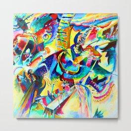 Wassily Kandinsky Improvisation Gorge Metal Print