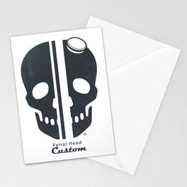 Petrol Head Custom Motorcycles Stationery Cards