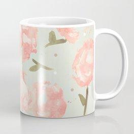 Syana's Cabbage Roses Coffee Mug