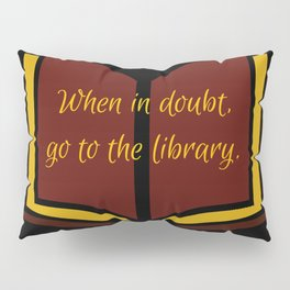 The Library at Nighttime Pillow Sham