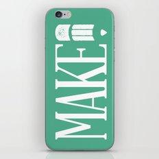 MAKE iPhone & iPod Skin