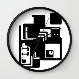Cutebot Wall Clock