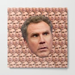 More Will Ferrel Metal Print