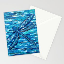 Blue Dragonfly 2 Stationery Cards