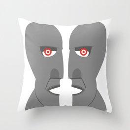 Pnk Floyd - division bell Throw Pillow