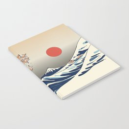 The Great Wave of Chihuahua Notebook