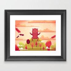 Welcome Autumn! Framed Art Print