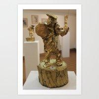statue Art Print