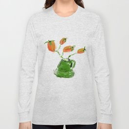 red rosehip berry Long Sleeve T-shirt