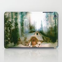 hobbit iPad Cases featuring HOBBIT HOUSE by FOXART  - JAY PATRICK FOX