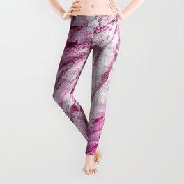 Pink Waves Lightroom Nail Polish Leggings