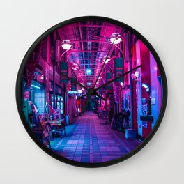 Entrance to the next Dimension Wall Clock