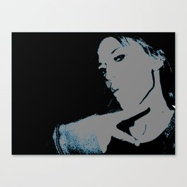 Throwin' Up The Deuces Canvas Print