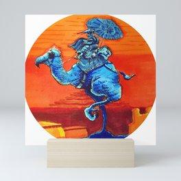 Bird Rider Mini Art Print