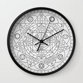 Hermetic Principles Wall Clock