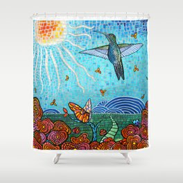Garden in the Sun Shower Curtain