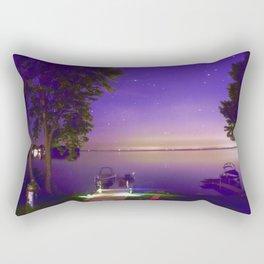 Lake Simcoe start nights Rectangular Pillow
