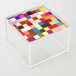 checkered times Acrylic Box