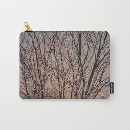 Winter Tree at Sunset Carry-All Pouch