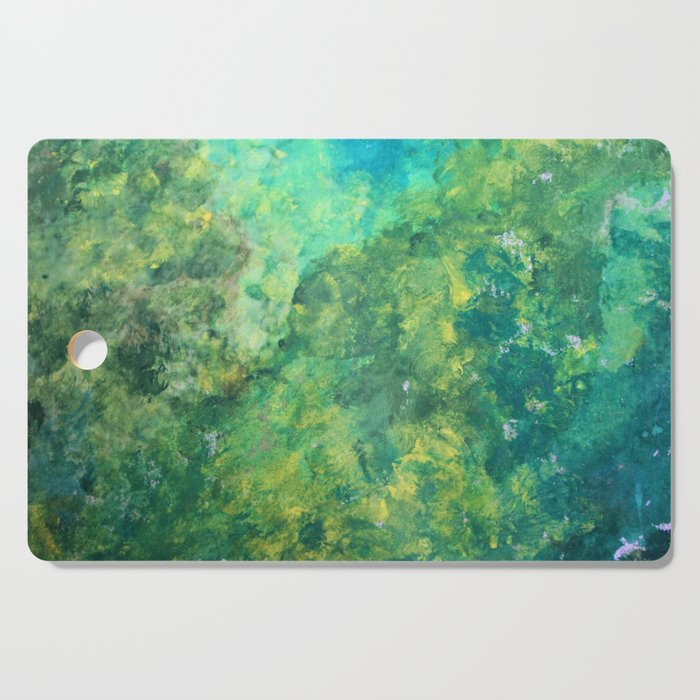 Green Meadow Cutting Board