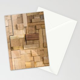 Wood bas-relief Stationery Cards
