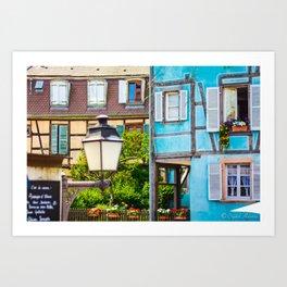 Colmar Alsace France Art Print