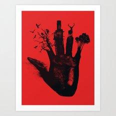 1 4d money 4 for life Art Print
