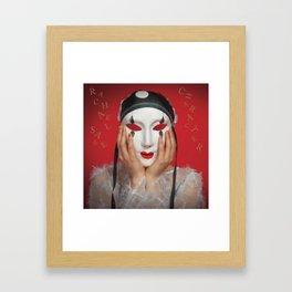 Character Abum Art Framed Art Print