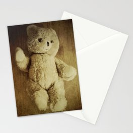 Old Teddy Bear Stationery Cards