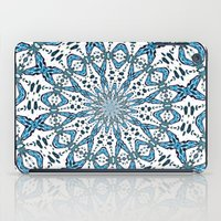 snowflake iPad Cases featuring Snowflake by Stay Inspired