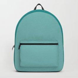 Half Turquoise Backpack