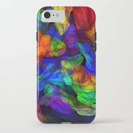 The Magic of Color iPhone Case