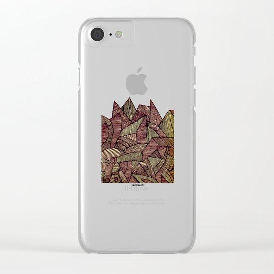 - heat - Clear iPhone Case