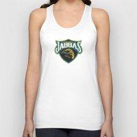 nfl Tank Tops featuring Jacksonville Jabbas - NFL by Steven Klock