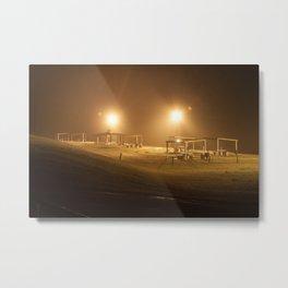 Park Lights Metal Print