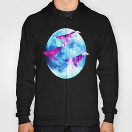NOCTURNE : ASTRAL WHALES Hoody