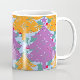 Christmas Holly Tree Coffee Mug