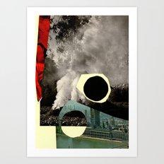 BLACKCIRCLE Art Print