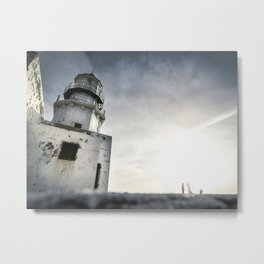 Chasing Light Metal Print