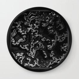"""""""foulard n°5"""" - mathéo Wall Clock"""