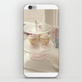 Vintage Cupcakes iPhone Skin