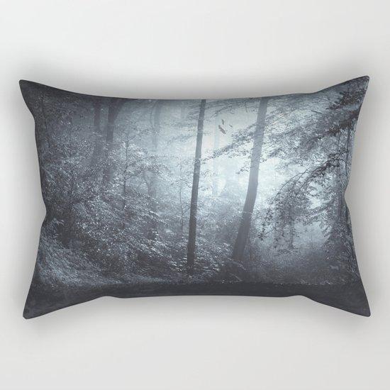 Blue Mystic ForesT Rectangular Pillow