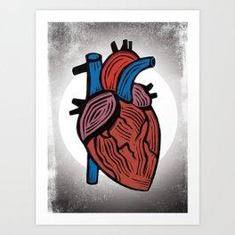 Strength Tarot card Art Print