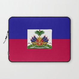 Haiti flag emblem Laptop Sleeve