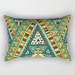 Native ornament pattern Rectangular Pillow