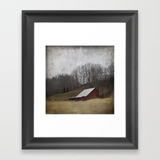 The 25th Of January In West Virginia Framed Art Print