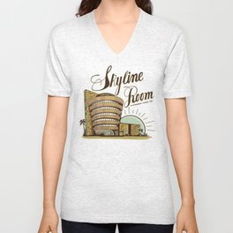 Skyline Room Unisex V-Neck