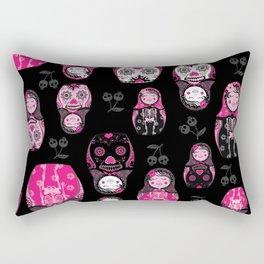 Russian/Mexican nesting dolls Rectangular Pillow