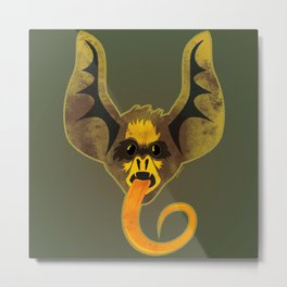 Bat Tongue Metal Print