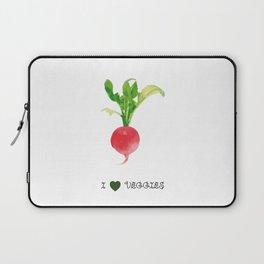 Radish - I love veggies Laptop Sleeve